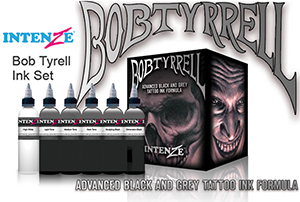 Bob Tyrell's Black and Grey from Intenze
