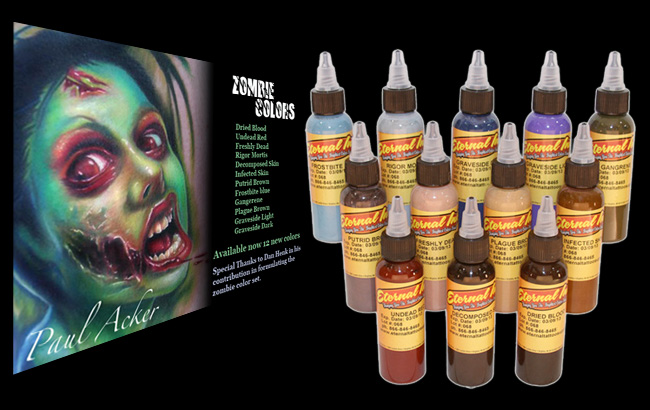 Eternal Tattoo Ink Zombie Set