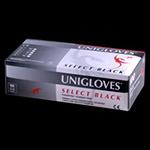 Disposable Gloves Uni Glove Black Latex Powder Free