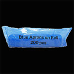 Disposable Prep Aprons on Roll